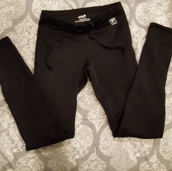 4259b1c576941 Fila Bottoms | Thick Fleece Lined Leggings | Poshmark